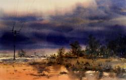 Joe Cartwright - Coming Storm, Barcaldine, Queensland