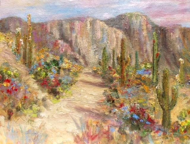 Annette D McGowan - Catalina Mountain Range - Tucson, Arizona