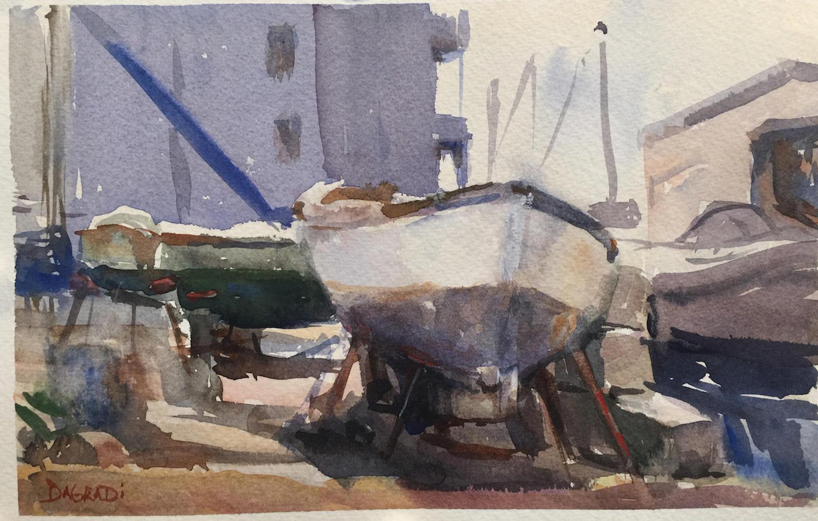 Joan DaGradi - Schubert's Boat Yard