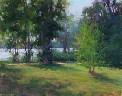 Lana Ballot - Bayard Arboretum (plein air)