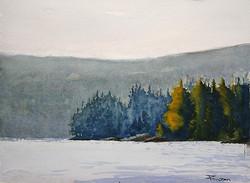 Zan Barrage - Smoke, Lake Algonquin
