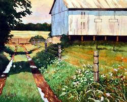 Mick Williams - Rainy Farm Lane