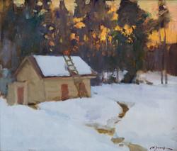 Alexander Zimin - Winter Gloaming