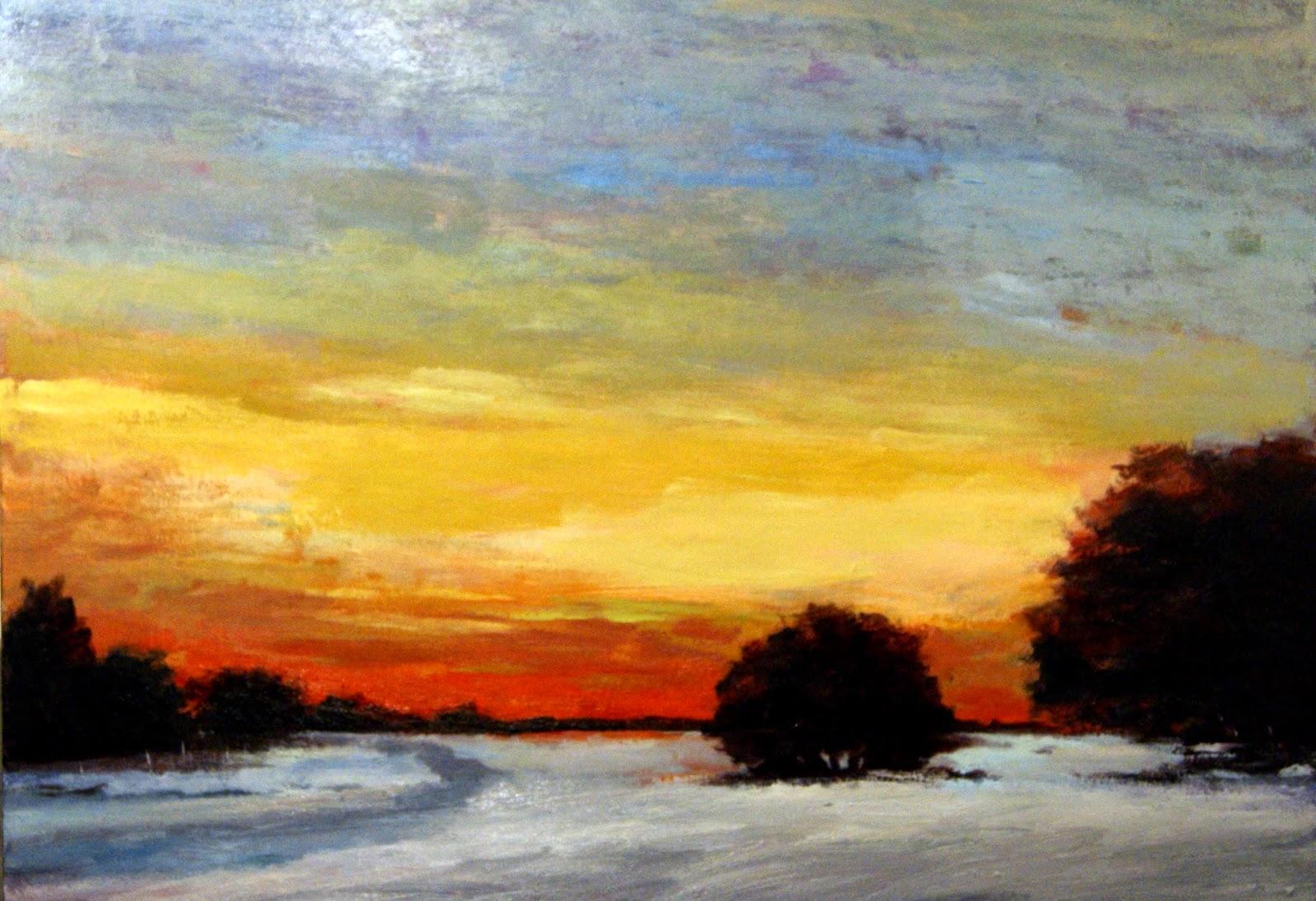 Abbas Darabi - Sunlight and Snow