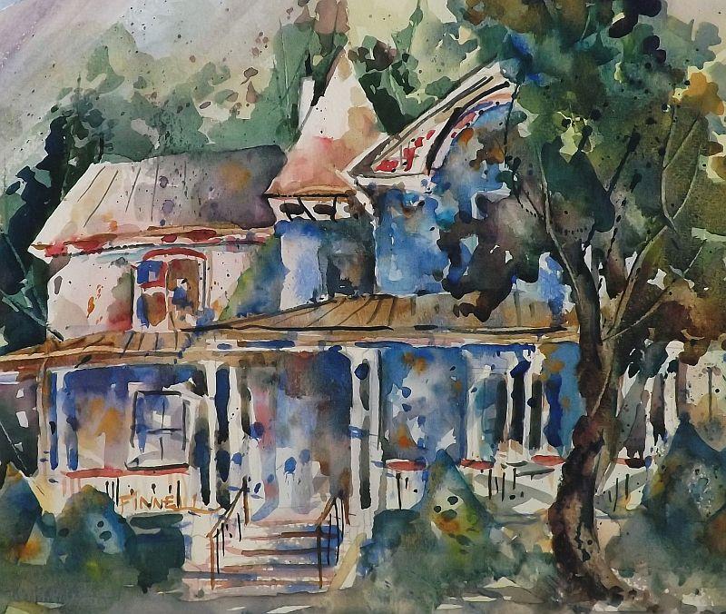 David Finnell - House in Woodstock