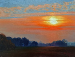 John Hulsey - Fog at Sunrise