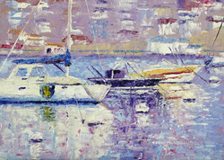 Terry Chacon - Boats in Avalon
