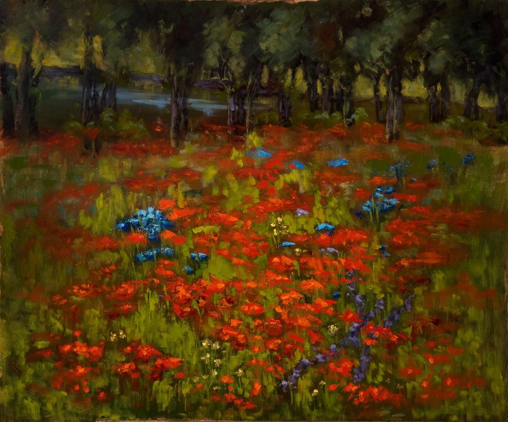 Jean Gauld-Jaeger - Poppy Fields Forever