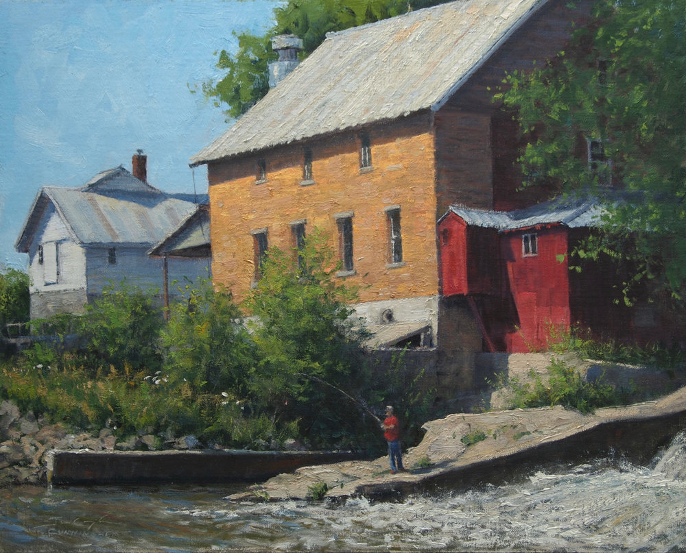 Joshua Cunningham - Wetting a Line, Litke Mill