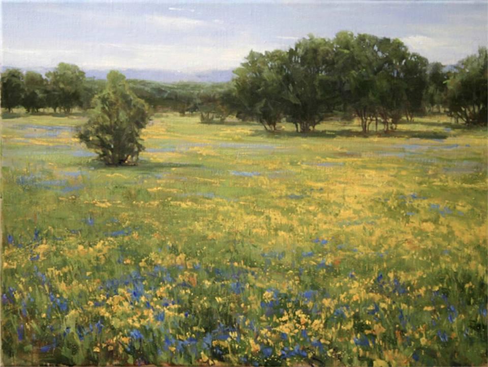 Fran Ellisor - Spring on the Edwards Plateau