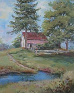 Dee Burdick - Old Barn