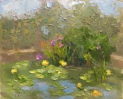 Oksana Johnson - Waterlilies