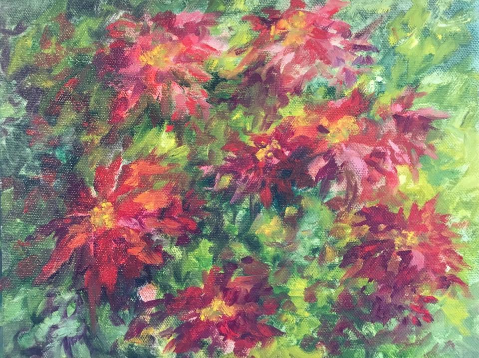 Julia Norton Stevens - Poinsettia Series #4 of 10