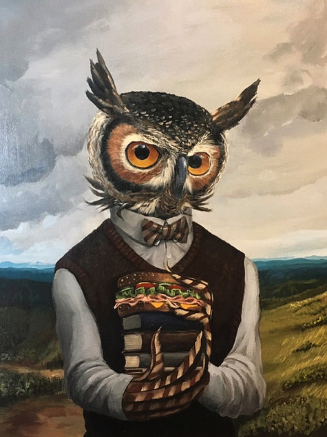 The Studious Owl