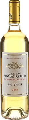 Chateau Sigalas Rabaud 2013 Premier Cru Classe, Sauternes (750ml)
