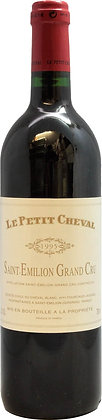 Le Petit Cheval 1995, St. Emilion Grand Cru (750ml)