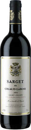 Sarget de Gruaud Larose 2002, St. Julien (750ml)