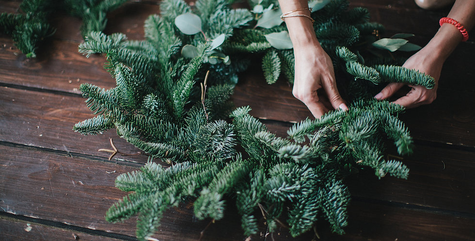 Plain Foliage Wreath