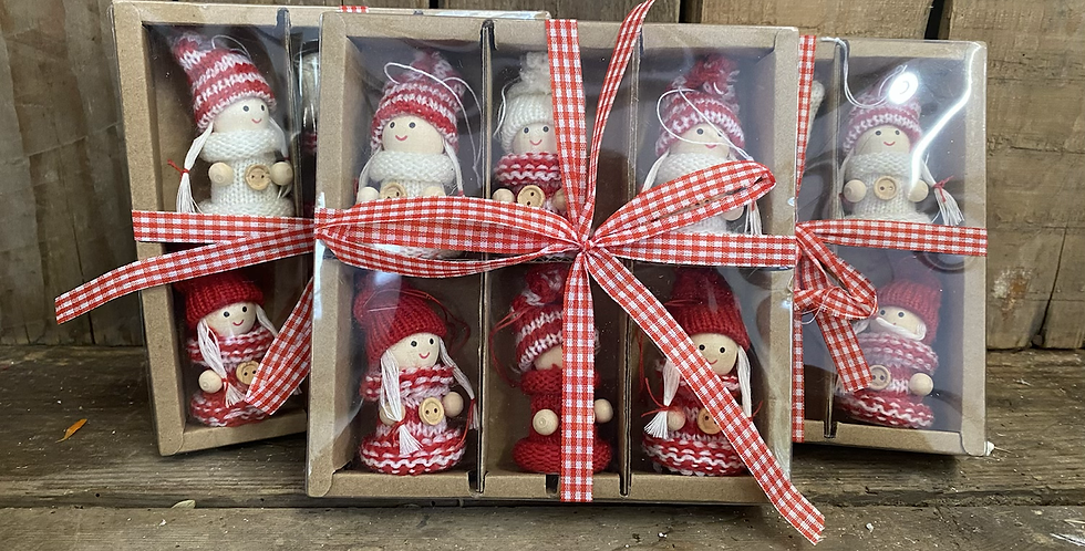 Christmas Dolls x6