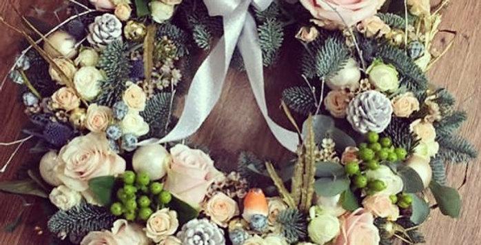 Luxury Floral Wreath