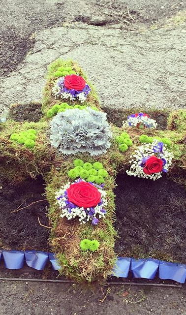Spitfire funeral tribute #funeral #loved