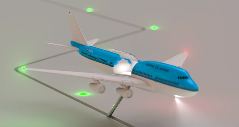 Airplane Animation Test