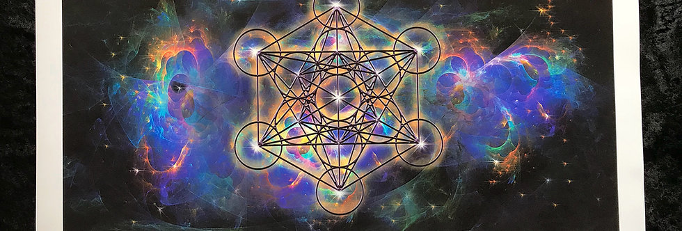 METATRON'S CUBE - LIMITED EDITION