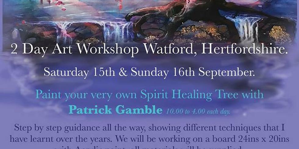 2 DAY VISION ART WORKSHOP Watford, Hertfordshire. 07740949537