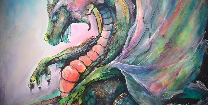 Dragon Painting SOLD