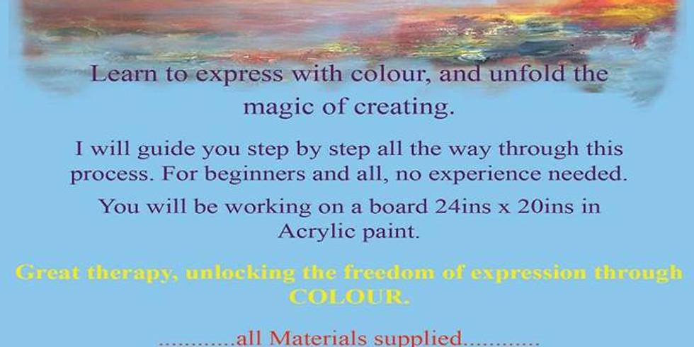 2 DAY VISION ART WORKSHOP Birmingham. 07740949537