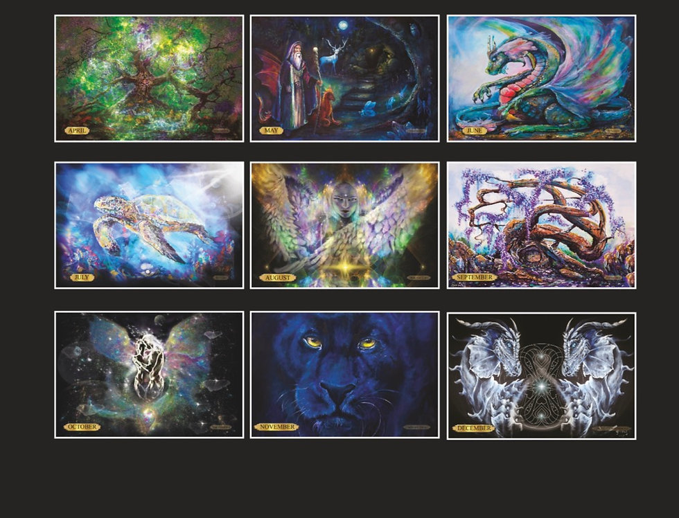 2022 Calendar Mixed Images