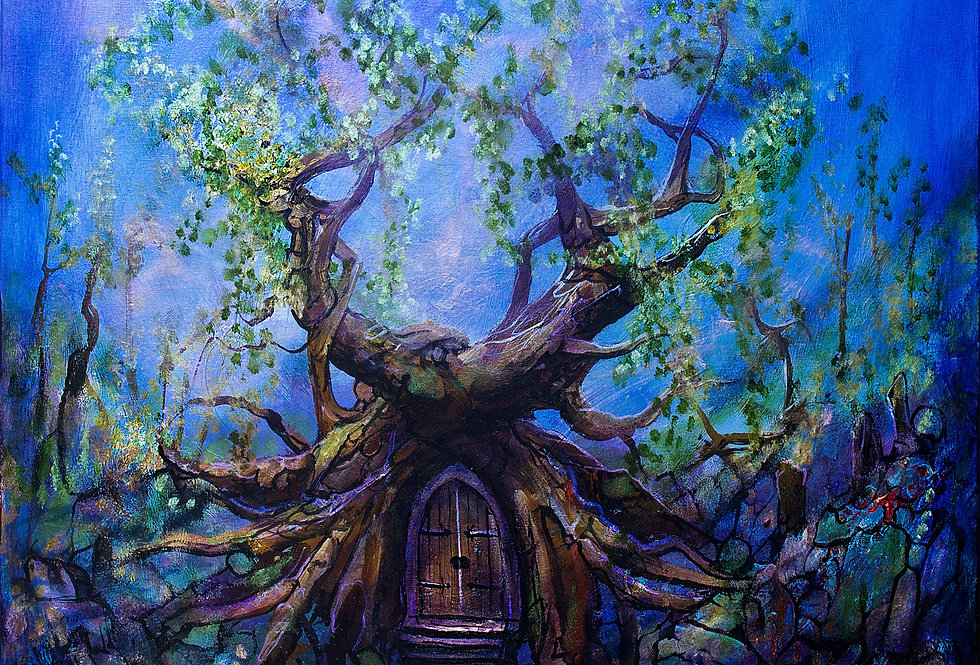 Doorway Tree of Enchantment