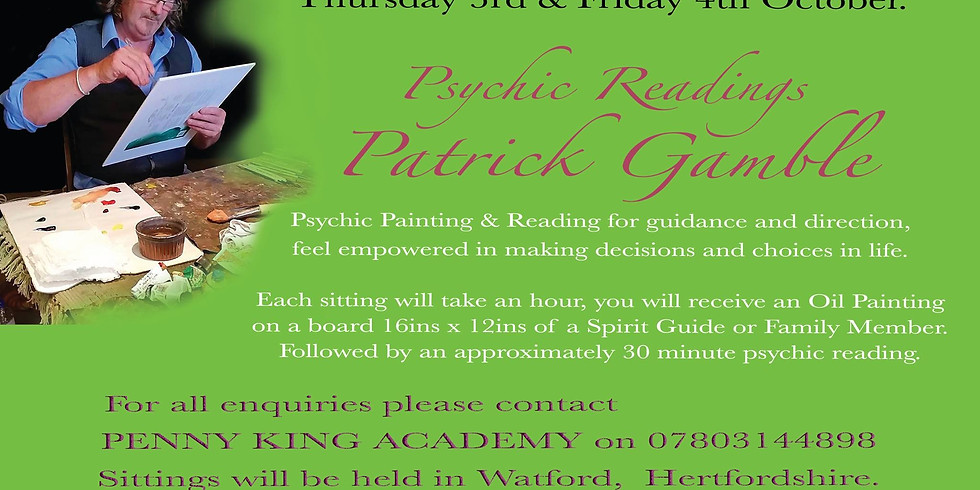 WATFORD Private Readings 07803144898