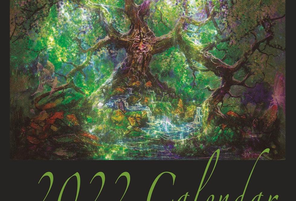 2022 Calendar, into the Magic.   (size A4)
