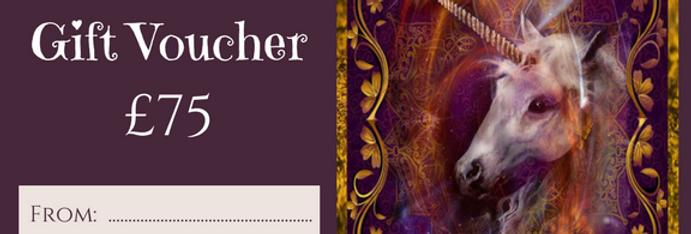 £75 Gift Voucher not available through website