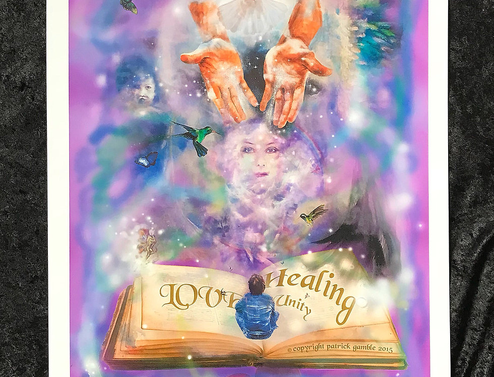 THE HEALING BOOK OF UNITY - LIMITED EDITION
