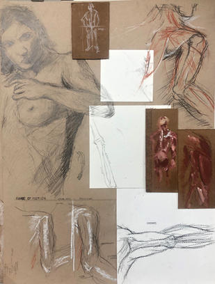 Collage of Arm and Torso Structures