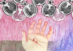 Pomegranate Rain