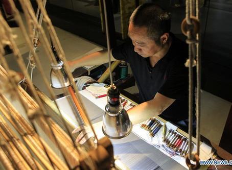 Le brocart traditionnel de Yun, une spécialité de Nanjing