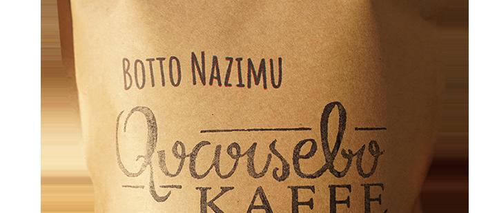 Kaffe Botto Nazimu: Mellanrost – Honung, björnbär & rosmarin. Etiopien