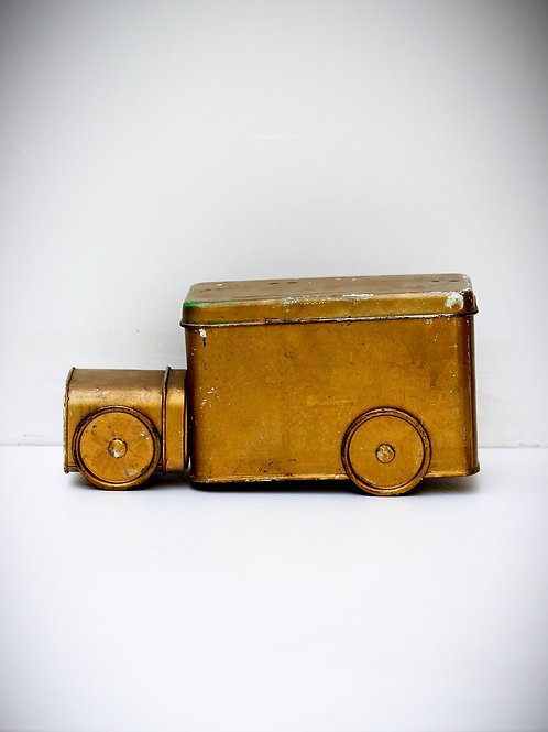 Araba Şeklinde Teneke Kutu