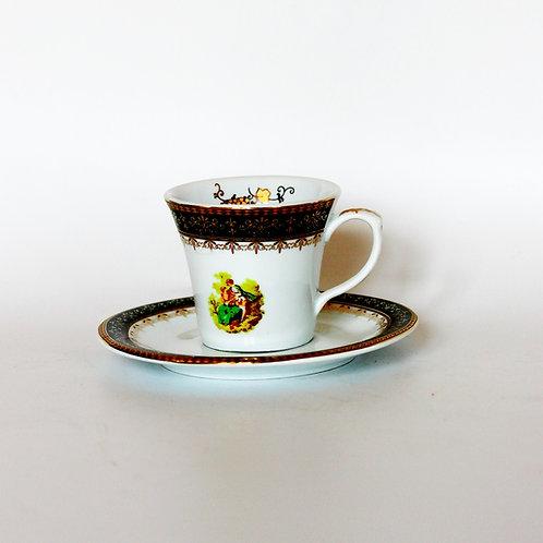 Vintage Porselen Kahve- Çay Fincanı