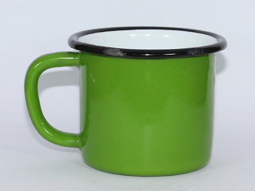 Emaye Kupa - Yeşil