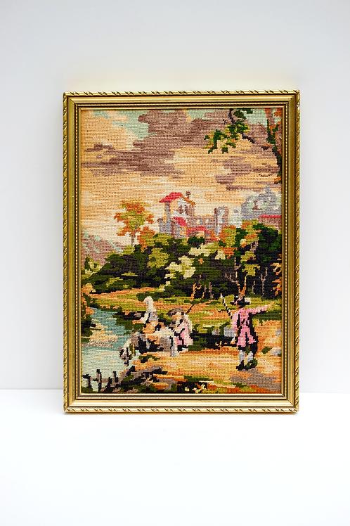 Fransız Goblen tablo