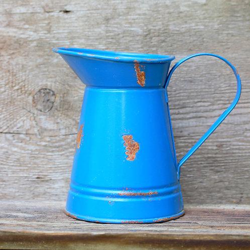 Pitcher saksı -Mavi
