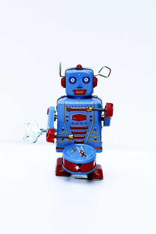 Fransız Vintage Kurmalı Robot