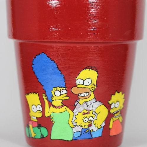 Boyalı Saksı - Simpsons Family
