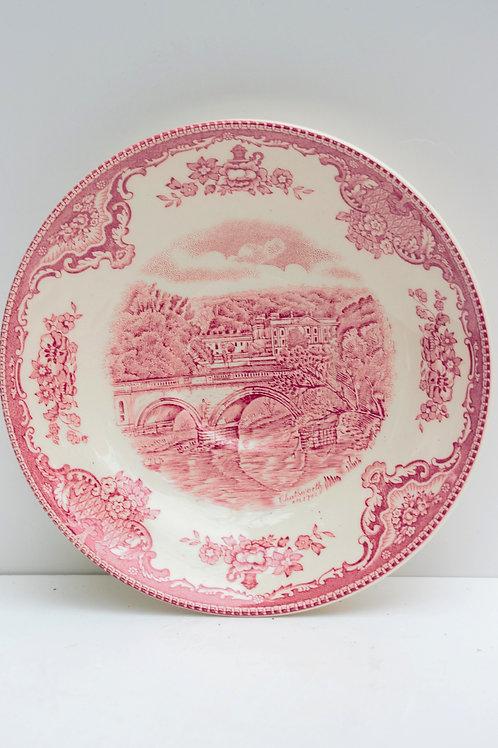 İngiliz Porselen dönem Tabak