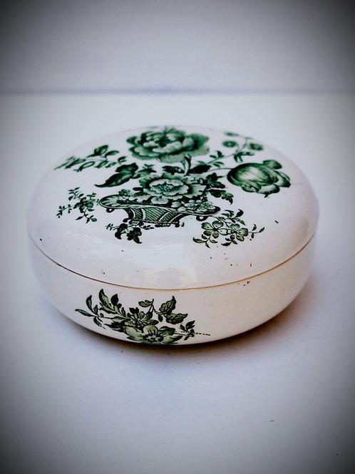 İngiliz Vintage Porselen Şekerlik
