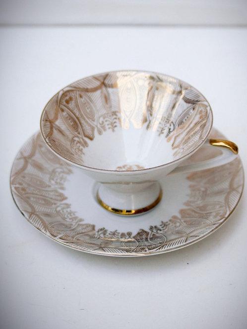 1950ler Bavaria Porselen Çay Fincanı